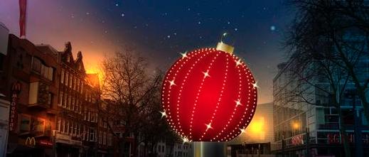 De grootste kerstbal ter wereld