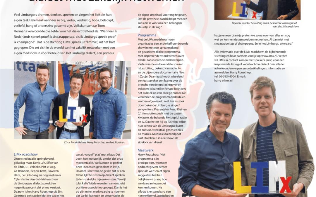 Artikel in City Magazine. Met dank aan Peter van Hooren.
